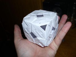 Origami Cube by Wolfrem