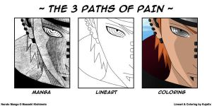 3 Paths of Pain by KujaEx