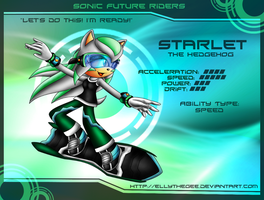 Starlet in Sonic Riders by EllyTheGee