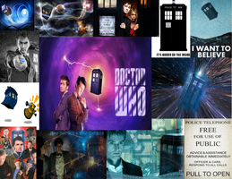 Dr. Who Wallpaper by KawaiiMusicGurl