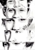 One direction drawing by Bluecknight