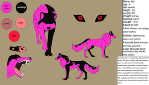 lilly refsheet by lioness728