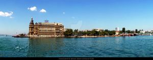 Haydarpasa Istanbul Panoramic by Grasycho