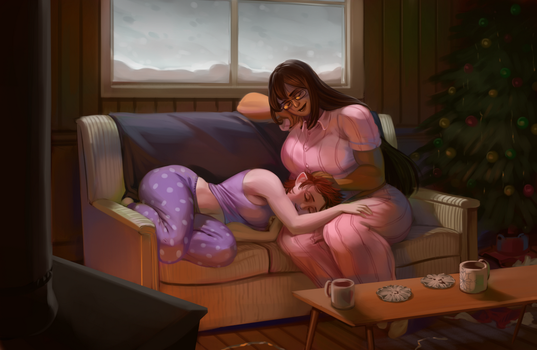 Cosy Cabin Nap by 0pik-0ort