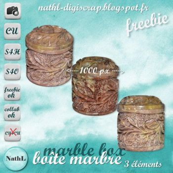 Marble Box :STOCK: by NathL-fr