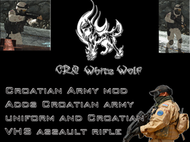 Croatian Army mod by crowhitewolf