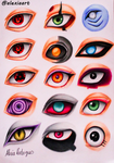 Naruto Eyes II by AlexiaRodrigues