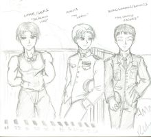 The Aces of Ace Combat Sketch by Skunk-Works