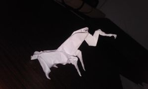 Origami Unicorn (Jo Nakashima) - with some twists! by therealmarcho