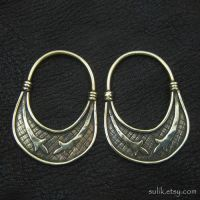 Bronze temple rings from medieval Slovenia by Strzygon