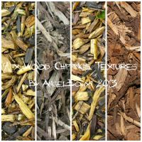 Wood Chippings Texture Pack by AngelEowyn