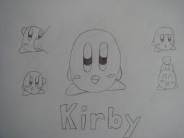 More Kirby Expressions by MetaKnight2716