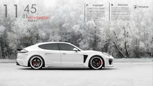 Panamera White Rainmeter by oneazam