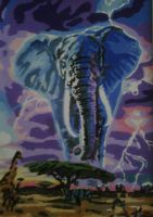 African Thunderstorm by RensaRaion