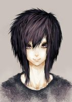 Violet Emo/Scene Girl by MAR5HMA110W