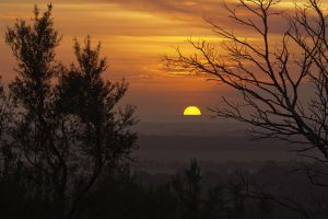 Sunset from Gellibrand Hill by ajhaysom