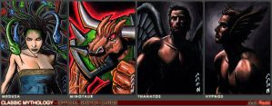 Greek Classic Mythology Sketch Cards 2