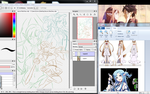 Asuna Sketch Wip Join.Me! by Aromai