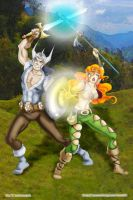 Elf warriors by WindstormSorceress