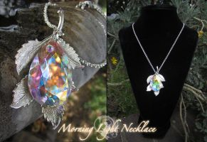 Morning Light Necklace by Lillyxandra