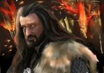 Commission -Thorin Smaug Sickness by GretaMacedonio