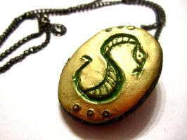 Slytherin's Locket by Cinnamonster