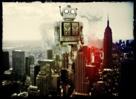 New York Robot by FarawayPictures