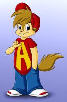 Cartoon Alvin's New Look by BoredStupid100