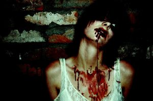 bloody girl by j-crazy