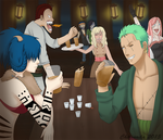One Piece OC: Crewparty by Chironaila