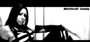 X-23 in Black and White by WhiteFox89