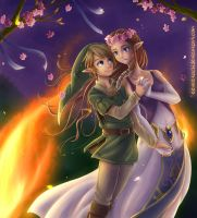 Midsummer in Hyrule by Eeveetachi