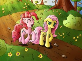 A stroll in the park by PrositDoodles