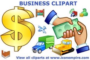 Business Clipart by Ikonod