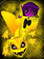 SINESTRO and PARALLAX chibi by huatist