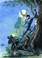 NightWing 140 cover by MichaelBair