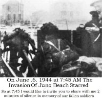 D-Day Canada JUNO Beach by hilliard