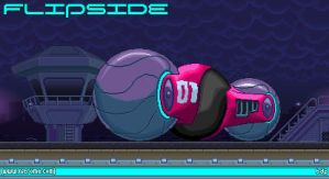 Nitrome fan art: 3D Flipside by Biodrawxel