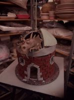 Ceramic 3 project : Dragon House by ownerfate