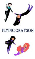 Flying Grayson by KiokoYamamoto