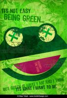 It Is Not Easy Being Green by DuirwaighStudios