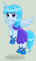 Matrice the Alicorn by Bakasyrup