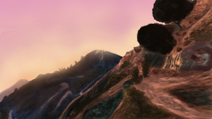 Montains to the sunset by Somelarder