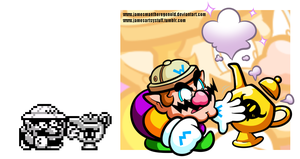 Wario's Guide to getting Genies out of Magic Lamps by JamesmanTheRegenold