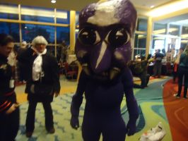 Ao oni cosplay by Sugerlandrox