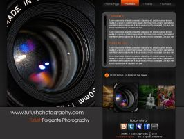 Fufush Photography Webpage by boykulas