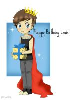 SPEEDPAINT - Louis 'The King' Tomlinson by perluchis