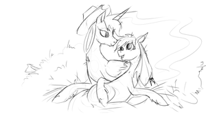 Lunajack In Hay by archonix
