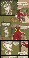 Don't Starve: Krampus by SleepDepJoel