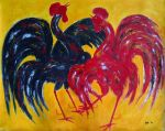 Two Rooster by ekosyaiful